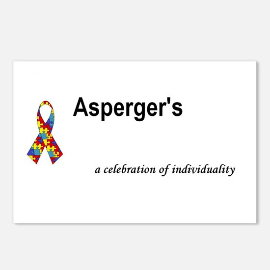 Autism/Asperger's Awareness Postcards (Package of