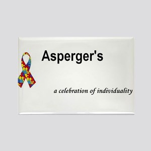 Autism/Asperger's Awareness Rectangle Magnet