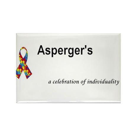 Autism/Asperger's Awareness Rectangle Magnet (10 p
