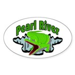 Pearl River Oval Sticker