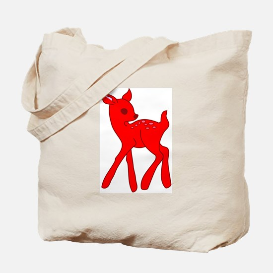 Vintage Fawn Tote Bag