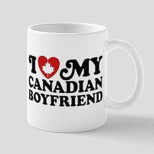 I Love My Canadian Boyfriend Mug