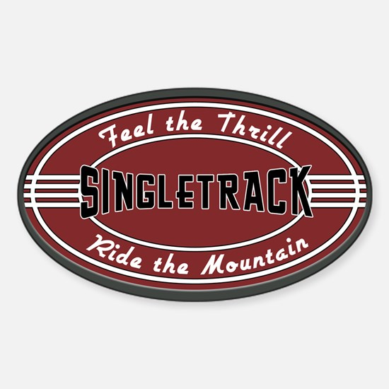 Feel the Thrill Sticker (Oval)