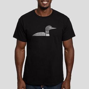 Grunge Loon Men's Fitted T-Shirt (dark)