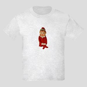 Cute Vintage Elf Ornament Kids Light T-Shirt