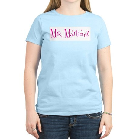 Mrs. Martinez Women's Light T-Shirt