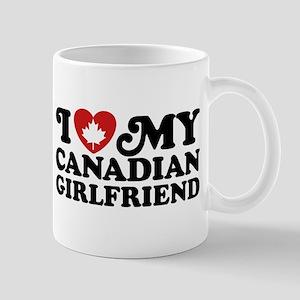 I Love My Canadian Girlfriend Mug