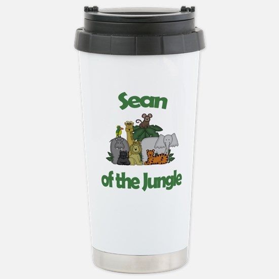 Sean of the Jungle Stainless Steel Travel Mug