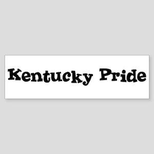 Kentucky Pride Bumper Sticker
