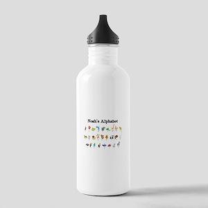 Nolan's Animal Alphabet Stainless Water Bottle 1.0