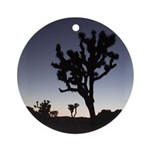 Joshua Tree Twilight Ornament (Round)