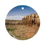 Indian Creek Utah Ornament (Round)