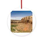 Indian Creek Utah Ornament (Round)
