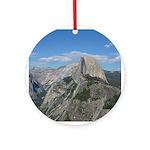 Yosemite - Half Dome Ornament (Round)