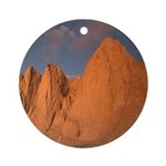 Mt. Whitney Ornament (Round)