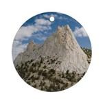 Cathedral Peak Ornament (Round)
