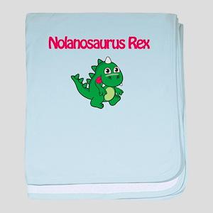 Nolanosaurus Rex baby blanket