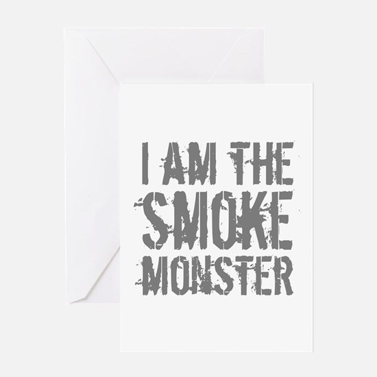 Smoke Monster Greeting Card