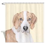 American Foxhound Shower Curtain