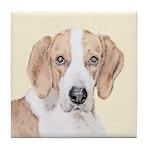 American Foxhound Tile Coaster