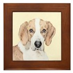 American Foxhound Framed Tile