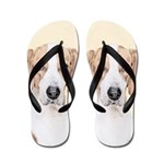 American Foxhound Flip Flops