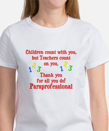 Paraprofessional Women's T-Shirt