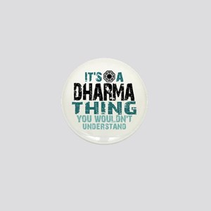 Dharma Thing Mini Button