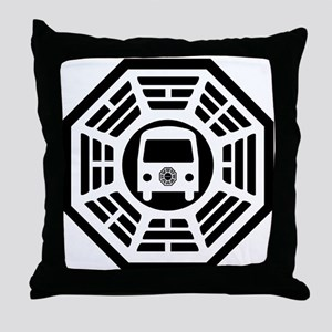 Dharma Van Throw Pillow
