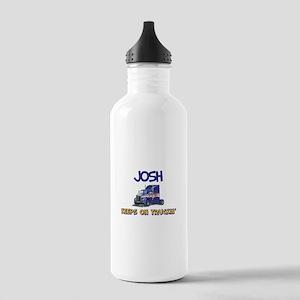 Josh's Motorcycle Racing Stainless Water Bottle 1.
