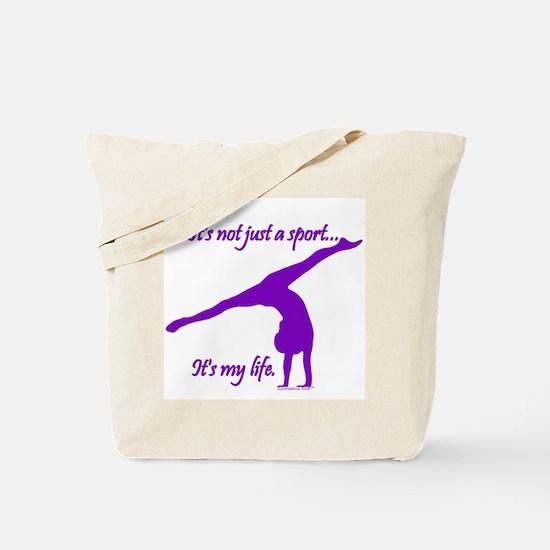 Gymnastics Tote Bag - Life