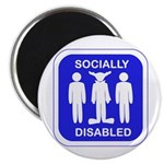 Socially Disabled Magnet