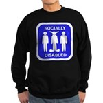 Socially Disabled Sweatshirt (dark)