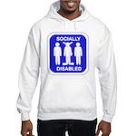 Socially Disabled Hooded Sweatshirt