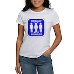 Socially Disabled Women's T-Shirt