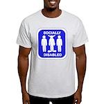 Socially Disabled Light T-Shirt