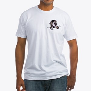 Pocket Monkey II Fitted T-Shirt