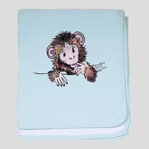 Pocket Monkey II baby blanket