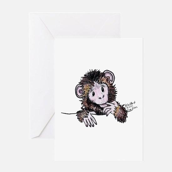 Pocket Monkey II Greeting Card