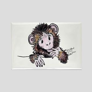 Pocket Monkey II Rectangle Magnet
