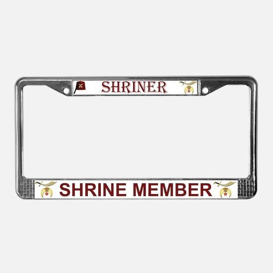 Shriners License Plate Frame