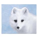 Arctic Fox King Duvet