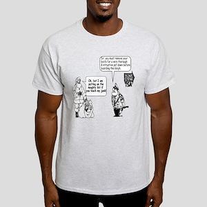 SANTA CHRISTMAS TOUCH JUNK TS Light T-Shirt