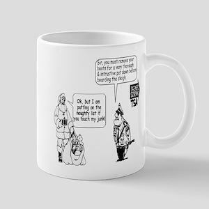 SANTA CHRISTMAS TOUCH JUNK TS Mug