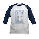 Arctic Fox Kids Baseball Jersey