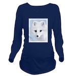 Arctic Fox Long Sleeve Maternity T-Shirt