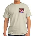 "Ash Grey T-Shirt / ""Kalman Angelic Art"""