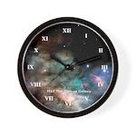 M17 The Omega Nebula Wall Clock
