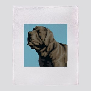 Neapolitan Mastiff Throw Blanket