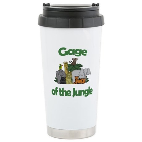 Gage of the Jungle Stainless Steel Travel Mug